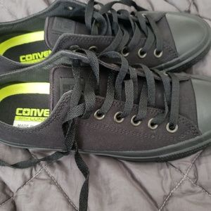 Converse all black with lunaron insoles new
